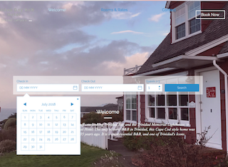 Trinidad Bay Bed & Breakfast Hotel Mobile Calendar